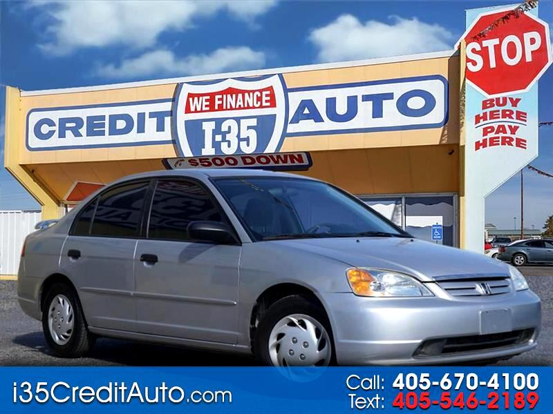 2001 Honda Civic LX 405-591-2214 CALL NOW--TEXT Below 24/7
