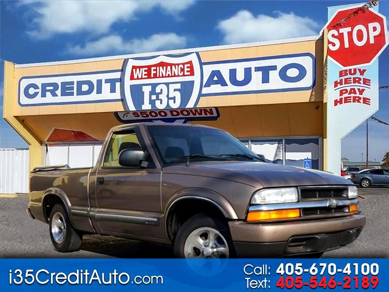 2002 Chevrolet S10 Pickup LS 405-591-2214 CALL NOW--TEXT Below 24/7