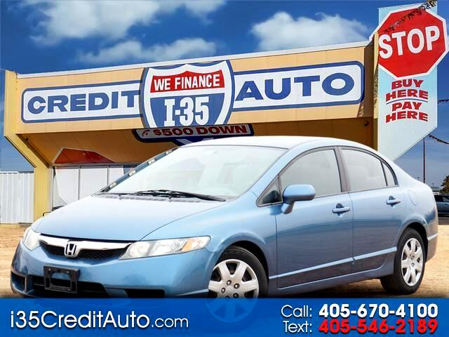 2009 Honda Civic LX 5-Speed 405-591-2214 CALL NOW--TEXT Below 24/7