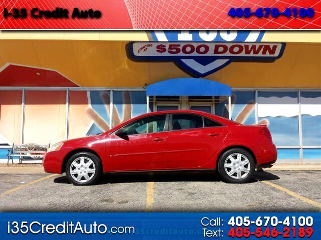2007 Pontiac G6 Sedan 405-591-2214 CALL NOW--TEXT Below 24/7