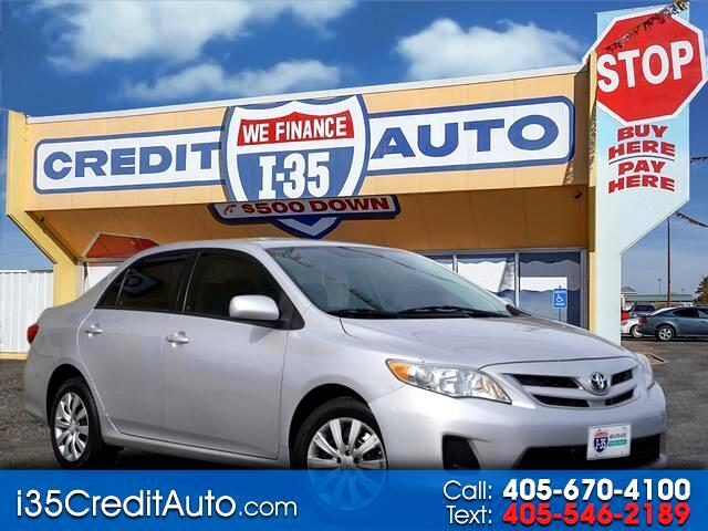 2012 Toyota Corolla S 5-SpeedMT 405-591-2214 CALL NOW--TEXT Below 24/7