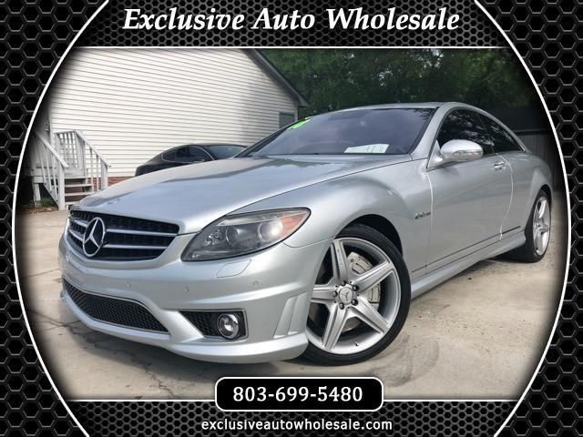 2008 Mercedes-Benz CL-Class 2dr Cpe CL 63 AMG RWD