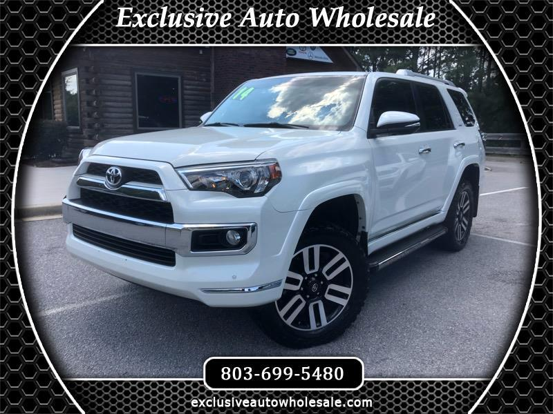 2014 Toyota 4Runner 4dr Limited 3.4L Auto 4WD (Natl)