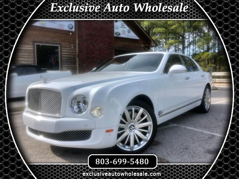 Bentley Mulsanne 4dr Sdn 2012