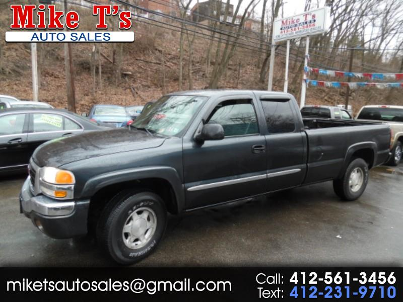 GMC Sierra 1500 SLE Ext. Cab Long Bed 4WD 2004