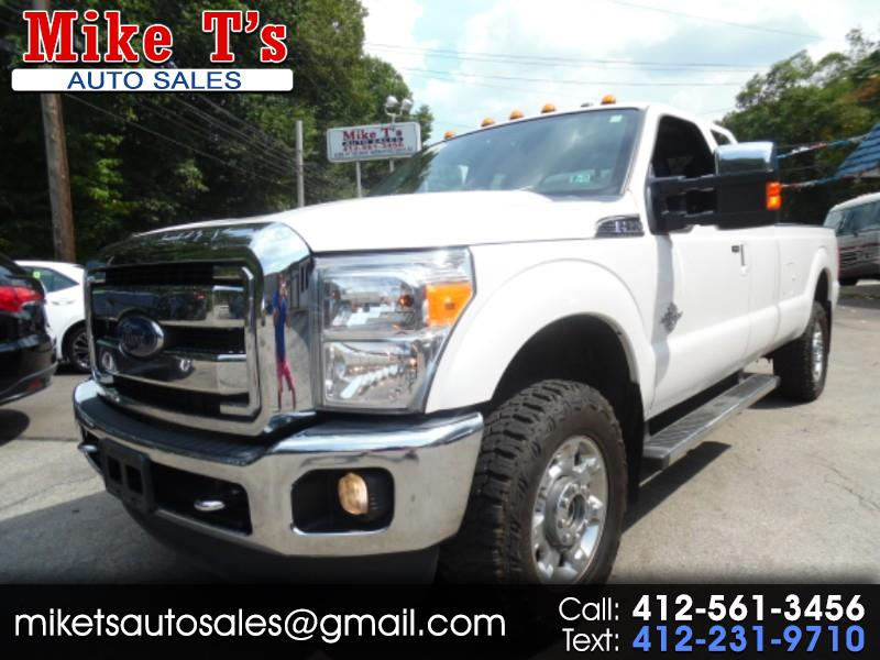 Ford F-350 SD Lariat SuperCab Long Bed 4WD 2014
