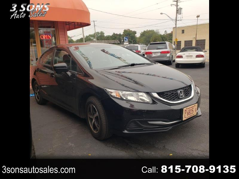 Honda Civic SE Sedan CVT 2015