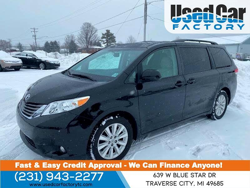 Toyota Sienna 5dr 7-Pass Van V6 Ltd AWD (Natl) 2014