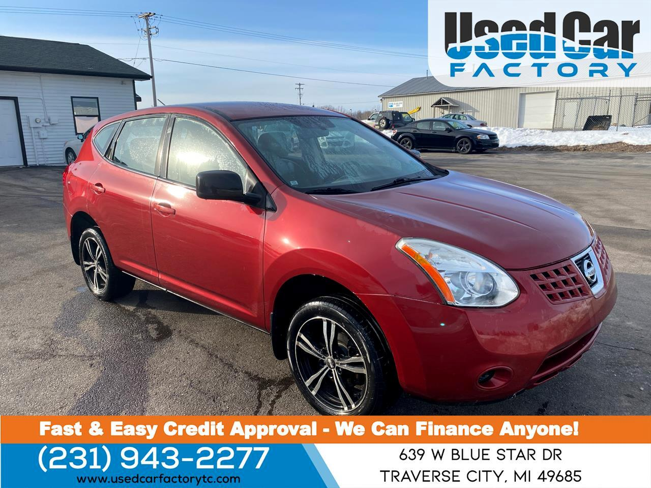 Nissan Rogue AWD 4dr S 2009