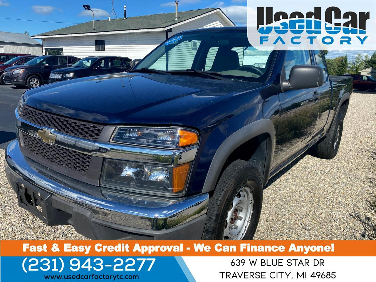 "Chevrolet Colorado 4WD Ext Cab 125.9"" Work Truck 2007"