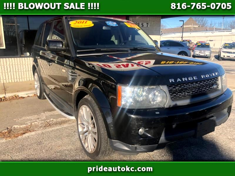 2011 Land Rover Range Rover Sport 4WD 4dr Supercharged