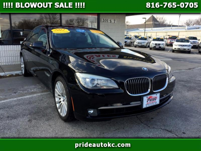 2012 BMW 7-Series 750Li xDrive