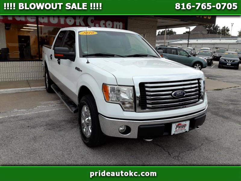 2010 Ford F150 XLT 4x4 4dr SuperCrew Styleside 5.5 ft. SB