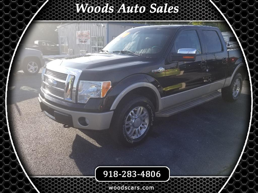 2009 Ford F-150 King ranch SuperCrew 6.5 bed 4WD