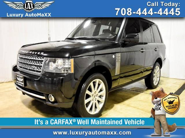 2011 Land Rover Range Rover SuperCharged Rear Entertainment Rear Power Seat