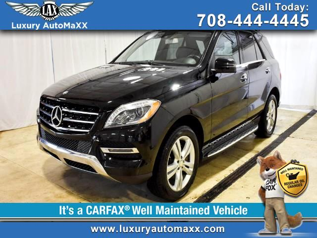2013 Mercedes-Benz M-Class ML350 4MTIC P2 PKG LED LIGHTS NAVIGATION BACKUP CA