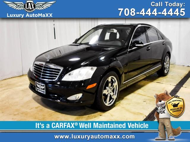 2007 Mercedes-Benz S-Class S550 4MATIC P2 PKG PUSH START AWD WOOD STEERING WH