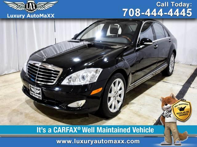 2008 Mercedes-Benz S-Class S550 4MATIC P2 PKG KEYLESS START & ENTRY WOOD STEE