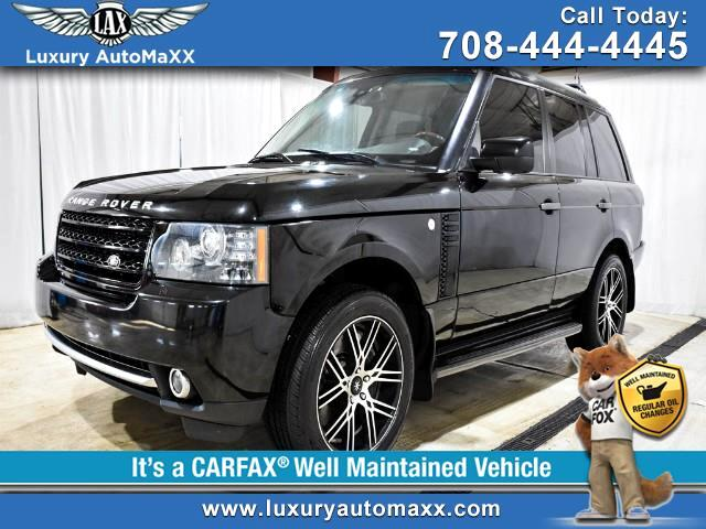 2010 Land Rover Range Rover SUPERCHARGED V8 5.0L 510HP REAR POWER BACK SEATS