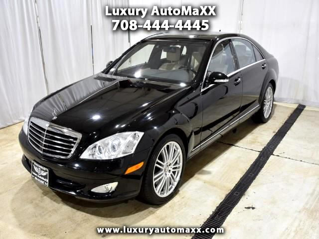 2008 Mercedes-Benz S-Class S550 4MATIC DESIGNO PACKAGE NIGHT VISION DISTRONIC