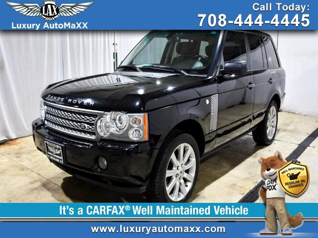 2006 Land Rover Range Rover SUPERCHARGED REAR ENTERTAINMENT