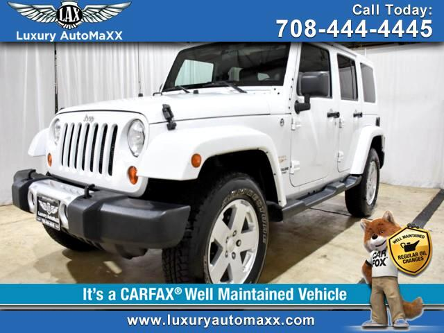 2012 Jeep Wrangler Unlimited Sahara 4WD 4DR REMOVABLE 3 PIECE HARDTOP