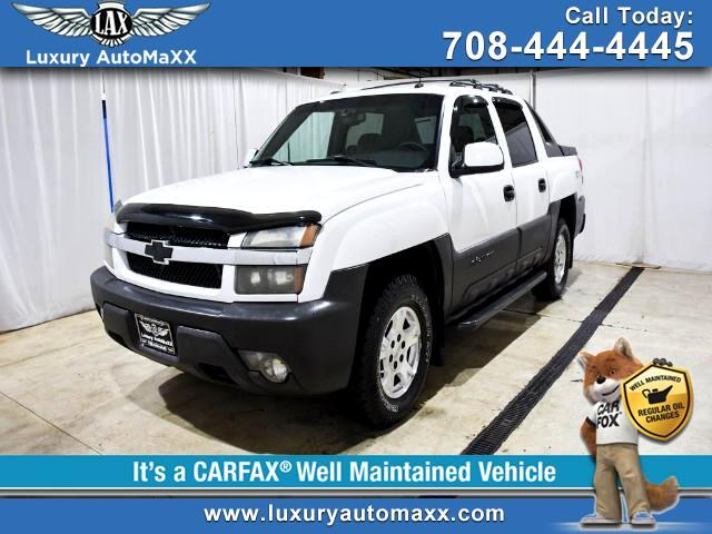 2003 Chevrolet Avalanche LTZ 4WD CREW CAR LEATHER SUNROOF