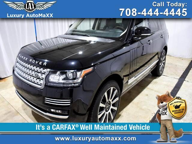 2014 Land Rover Range Rover V8 SUPERCHARGED AUTOBIOGRAPHY PLUS REAR ENTERTAINM