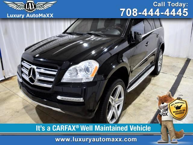 2012 Mercedes-Benz GL-Class GL550 4MATIC REAR TV ENTERTAINMENT P2 PKG