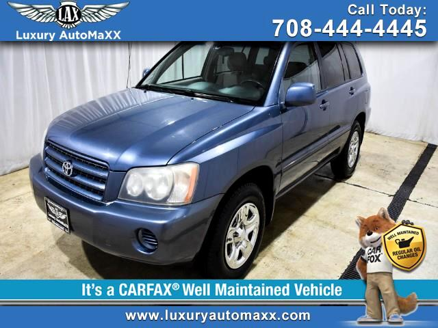 2003 Toyota Highlander 4DR 4-CYL GREAT GAS MILEAGE GREAT VALUE