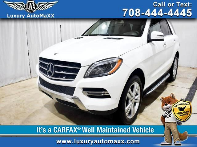 2014 Mercedes-Benz M-Class ML350 4MATIC P2 PKG PUSH START BUTTON RUNNING BOAR