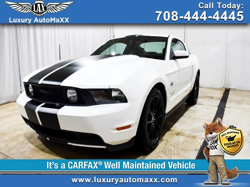 2010 Ford Mustang GT PREMIUM COUPE RACING STRIPS SHAKER SOUND SYSTEM