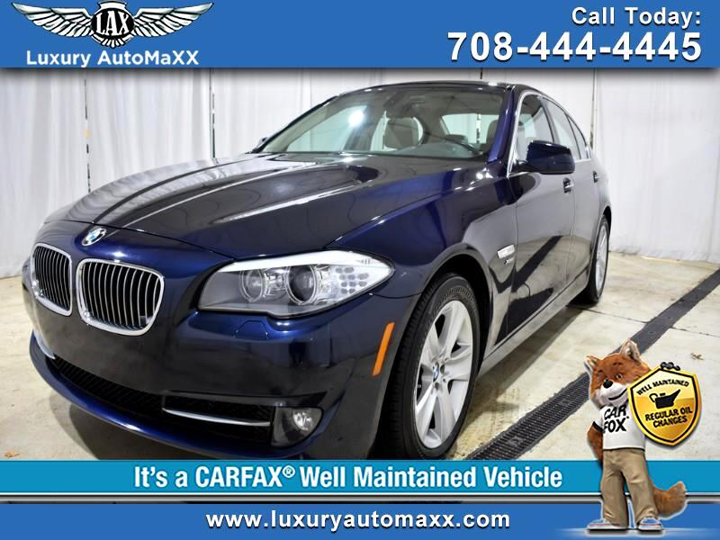 2012 BMW 5-Series 528i xDrive COLD WEATHER TECHNOLOGY XENON PACKAGE