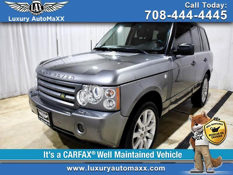 2007 Land Rover Range Rover HSE LUXURY PKG REAR ENTAINMENT SUPERCHARGED WHEELS