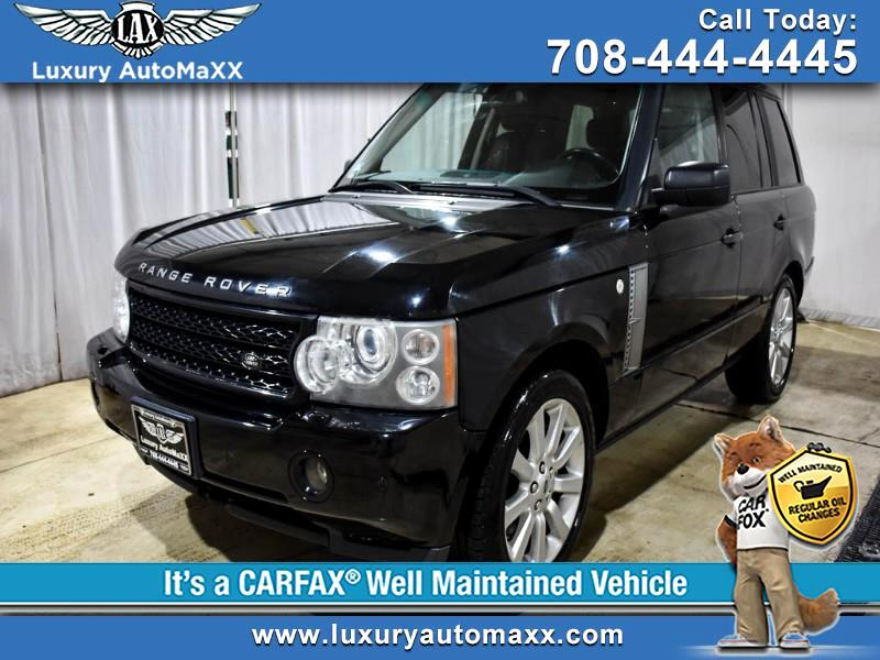 2006 Land Rover Range Rover HSE 4WD SUPERCHARGED REAR ENTERTAINMENT