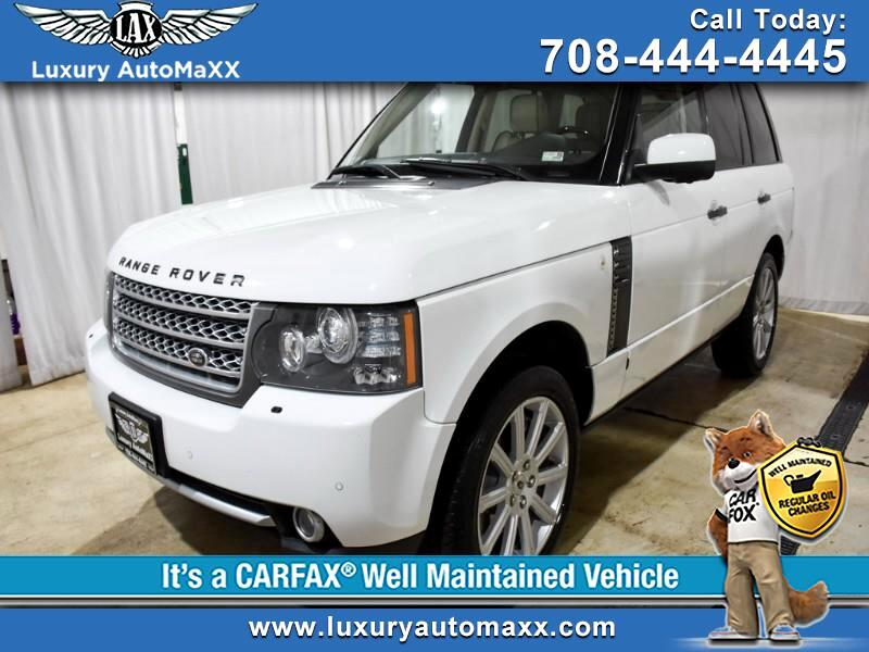 2011 Land Rover Range Rover HSE SUPERCHARGED V8 515 HP