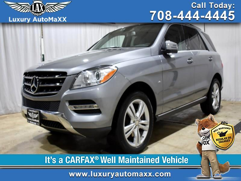 2012 Mercedes-Benz M-Class ML350 4MATIC LOW MILES
