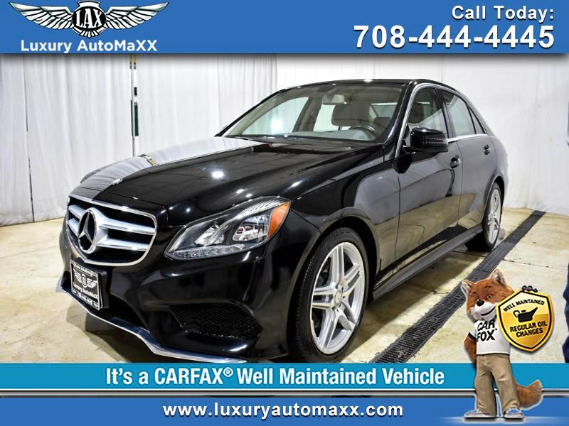 2014 Mercedes-Benz E-Class E350 4MATIC SPORT AMG LOW MILES 38K