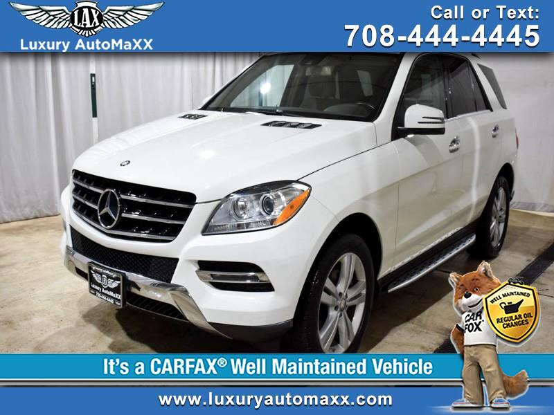 2013 Mercedes-Benz M-Class ML350 4MATIC P2 PKG RUNNING BOARDS