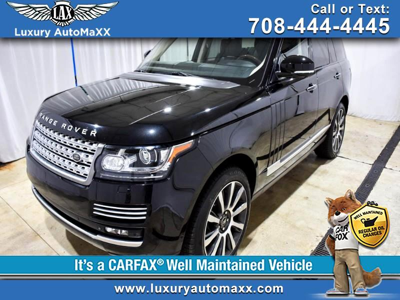 2014 Land Rover Range Rover Supercharged Plus Autobiography Pkg