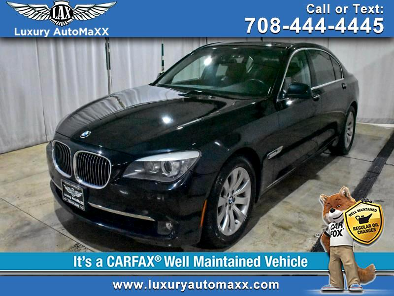 2010 BMW 7-Series 750LI xDrive DRIVING ASST CONVENIENCE LUXUYR REAR