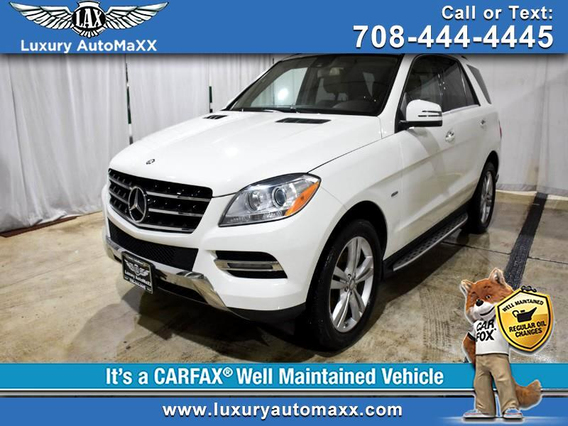 2012 Mercedes-Benz M-Class ML350 4MATIC RUNNING BOARDS P2 PKG PUSH START BUTT
