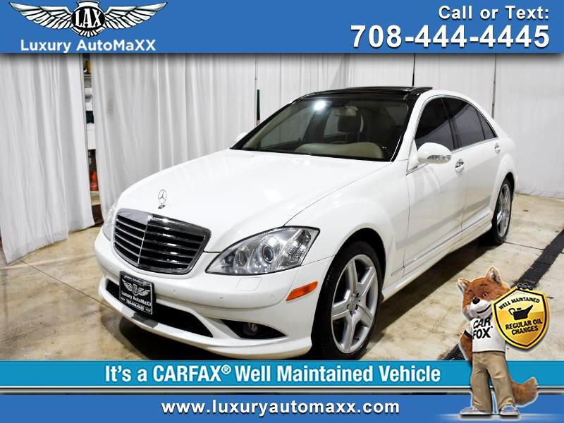 2008 Mercedes-Benz S-Class S550 4MATIC SPORT AMG PANO BACKUP AIR COOLED SEATS