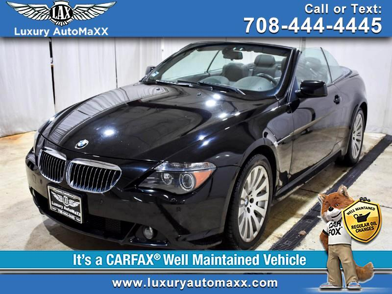 2005 BMW 6-Series 645CI CONVERTIBLE NAVIGATION COLD WEATHER SEATS