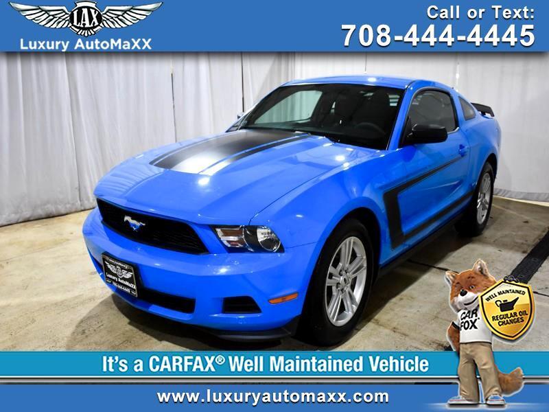 2012 Ford Mustang V6 Coupe MANUAL 6SPD GRABBER BLUE