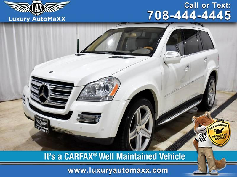 2010 Mercedes-Benz GL-Class GL550 4MATIC P2 PKG PUSH START BUTTON 3RD ROW