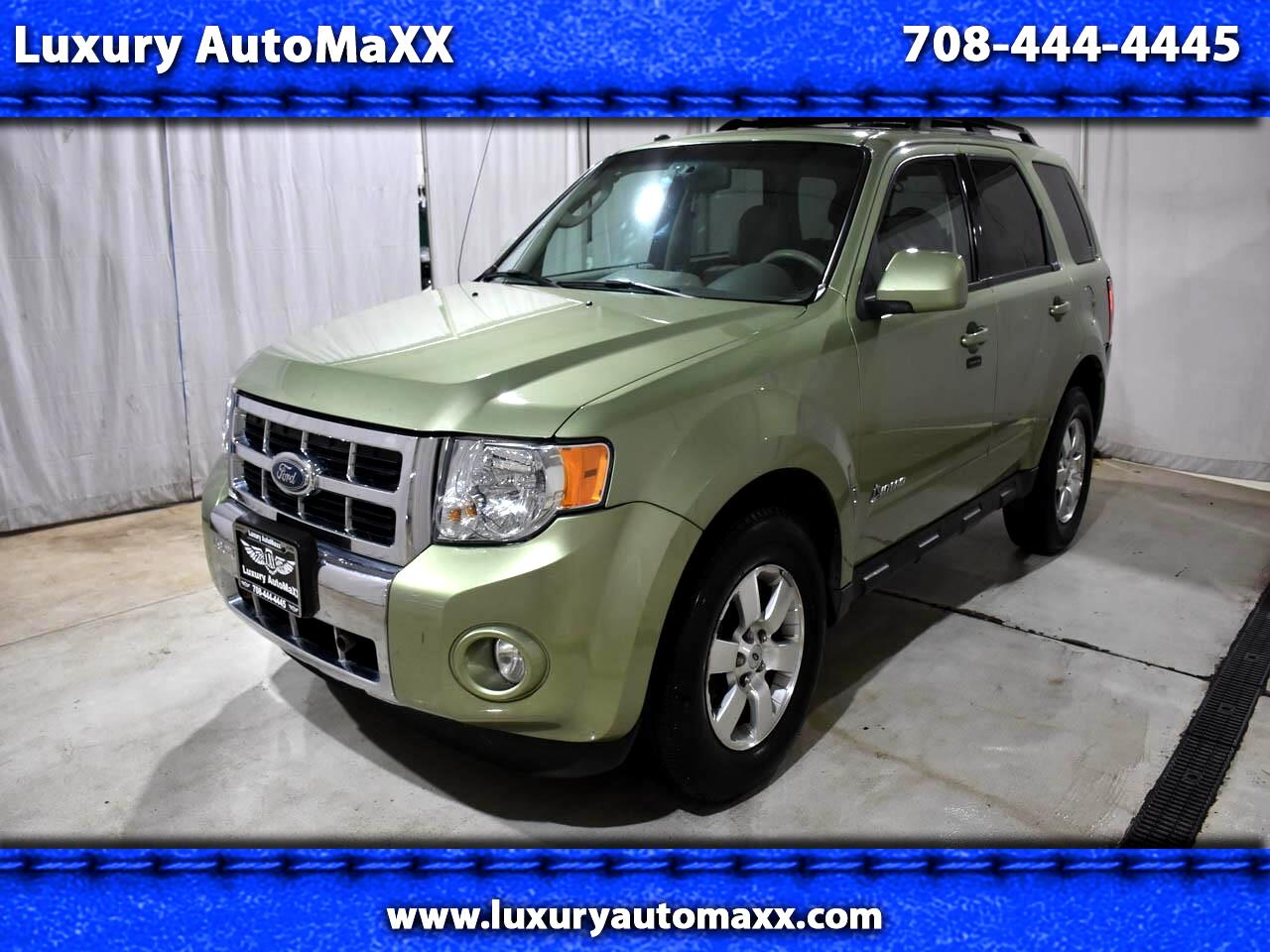 2009 Ford Escape Hybrid LIMITED 4WD LEATHER SUNROOF BLUETOOTH
