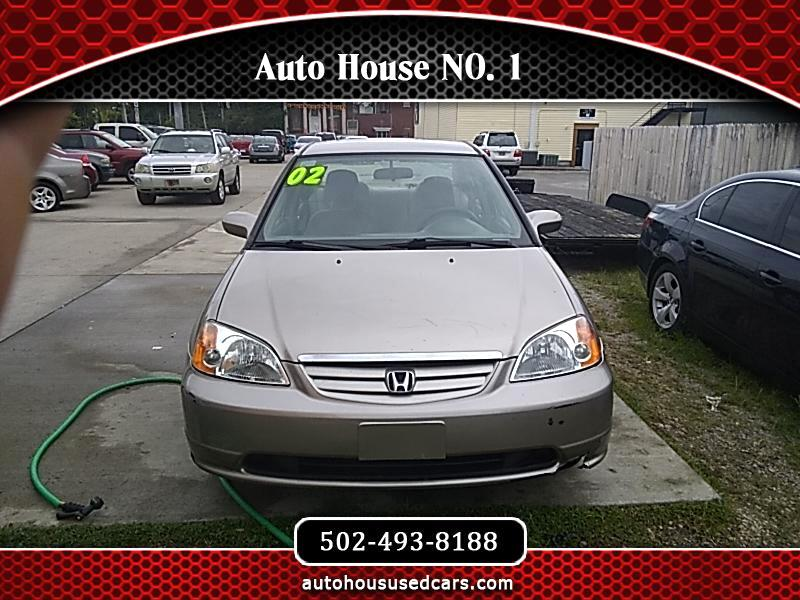 2002 Honda Civic LX sedan