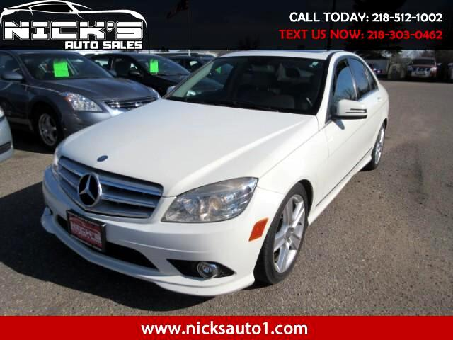 2010 Mercedes-Benz C-Class C300 4MATIC Luxury Sedan