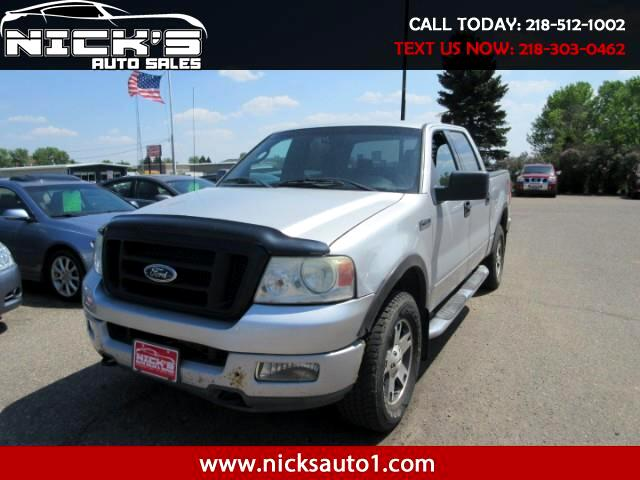 "2004 Ford F-150 4WD SuperCrew 139"" FX4"